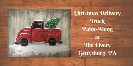 Christmas Delivery Truck - The Livery Paint-Along tickets
