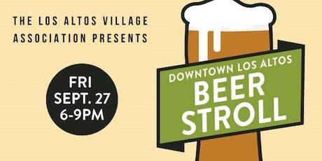 2019 Downtown Los Altos Beer Stroll tickets