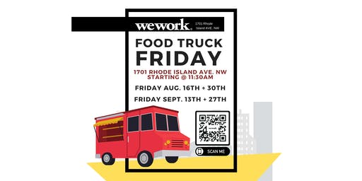 WeWork Food Truck Friday