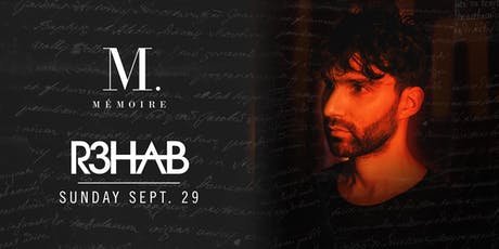R3HAB at Mémoire tickets