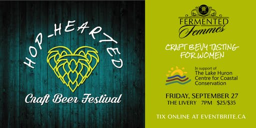 3rd Annual Hop-Hearted Craft Beer Festival for Women
