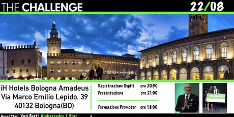 BOLOGNA THE CHALLENGE tickets