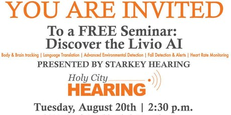 Discover the Livio AI: The health-able hearing device. tickets
