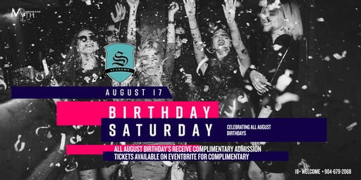 Myth Nightclub's Birthday Saturday Party  *Celebrating All August Bday's*