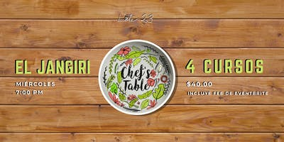 Chef's Table: El Jangiri