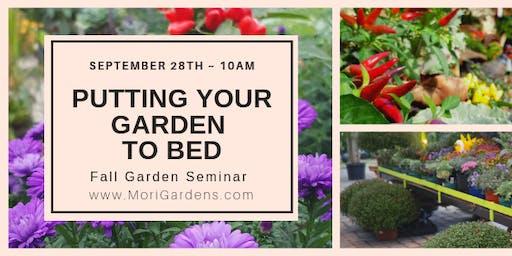 Putting Your Garden To Bed: Fall Garden Series #GROWniagara