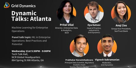 "Dynamic Talks: Atlanta ""Machine Learning for Enterprise Operations"" tickets"