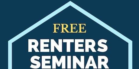 Renters Seminar tickets