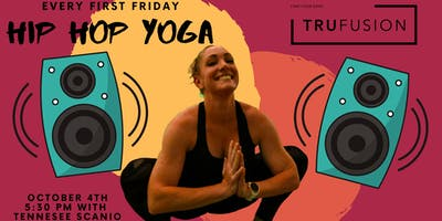 Hip Hop Yoga at TruFusion (October 4th, 2019)