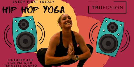 Hip Hop Yoga at TruFusion (October 4th, 2019) tickets