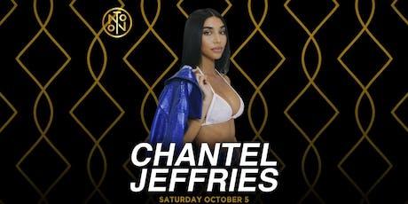 Chantel Jeffries @ Noto Philly October 5 tickets