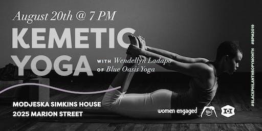 Kemetic Yoga: A Black Philanthropy Month Workshop