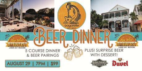 Bagatelle Brewfest Beer Dinner  tickets