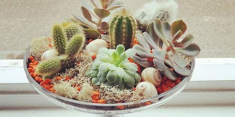 Cactus Terrarium Workshop tickets