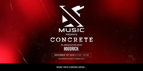 AG Music presents: Concrete tickets