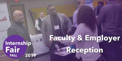 Faculty-Employer Internship Fair Reception