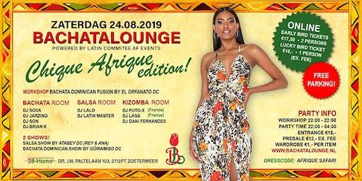 Bachatalounge Chique Afrique Edition