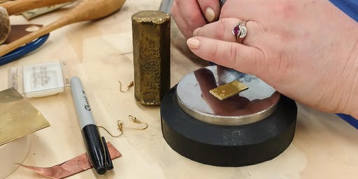 Cork & Stamp Jewelry Workshop (1-Day Workshop)