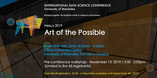 INTERNATIONAL DATA SCIENCE CONFERENCE | ART OF THE POSSIBLE