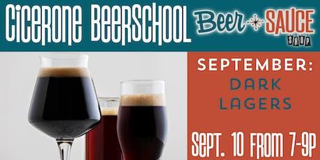 Dark Lager Cicerone BeerSchool tickets