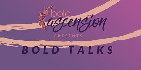 September Bold Talks tickets