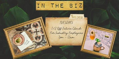 ITB Tuesdays At The Wilder tickets
