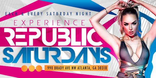 REPUBLIC SATURDAYS (EDM, LATIN & HOUSE)
