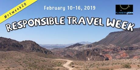 Responsible Travel Week 2020 tickets