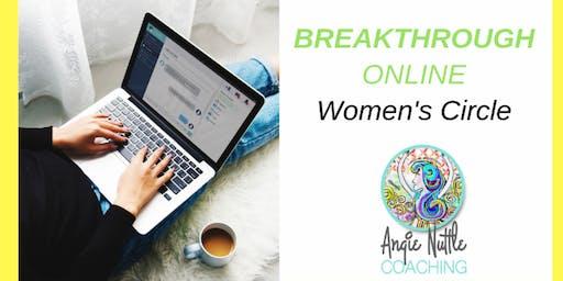 Online Breakthrough Coaching Circle for Women