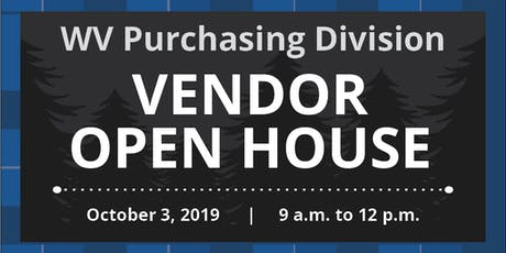 West Virginia Purchasing Division's Vendor Open House tickets
