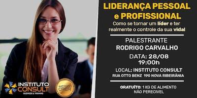 WORKSHOP - LIDERANÇA PESSOAL E PROFISSIONAL