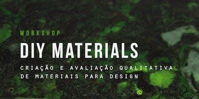 DIY Materials: criação e avaliação qualitativa de