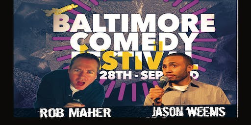 Saturday Night Baltimore Comedy Festival at The Motor House