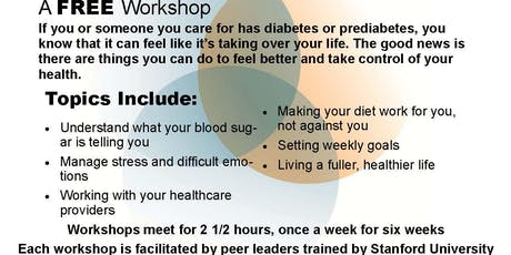 Free Diabetes Self-Management Workshop tickets