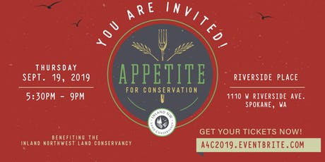 Appetite for Conservation 6th Annual tickets
