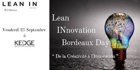 Lean INnovation Bordeaux Day billets
