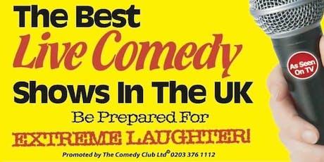 Ashburton Hall Comedy Club tickets