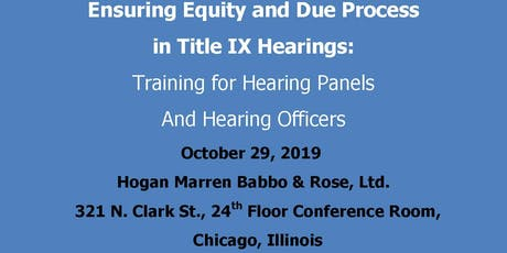 Ensuring Equity and Due Process in Title IX Hearings tickets
