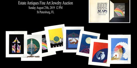 Vintage Estate Antiques, Fine Art & Jewelry Auction tickets