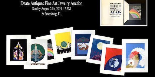 Vintage Estate Antiques, Fine Art & Jewelry Auction