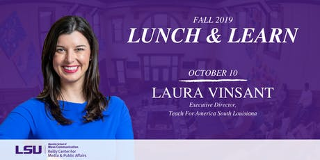 Lunch & Learn: Laura Vinsant tickets