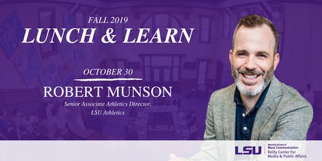 Lunch & Learn: Robert Munson tickets