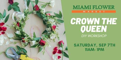 Flower Crown DIY Workshop