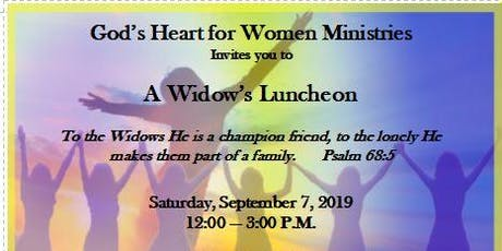 A Widow's Luncheon tickets