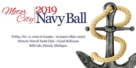 2019 Motor City Navy Birthday Ball tickets