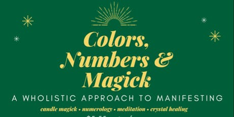 Colors Numbers & Magick tickets