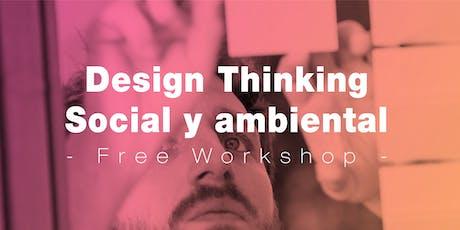 Design Thinking social y ambiental tickets