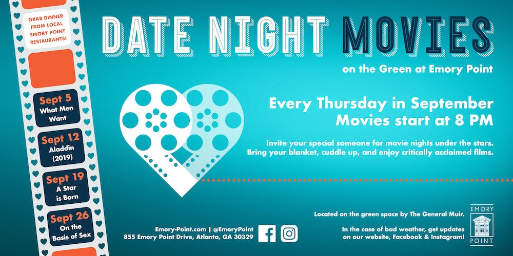 Date Night Movies on the Green Tickets, Multiple Dates