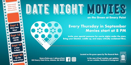 Date Night Movies on the Green