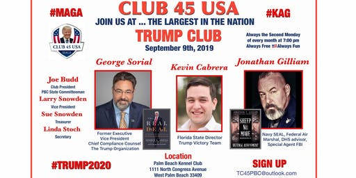 Club 45 USA September Meeting!
